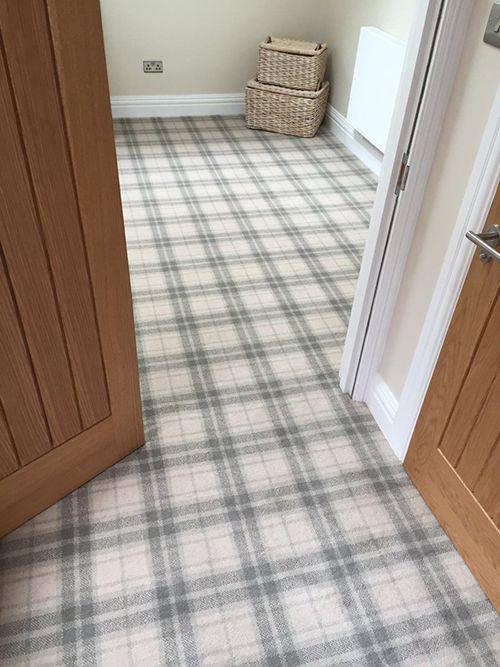 Ulster Carpets Boho Hamilton Moon Shimmer Tartan