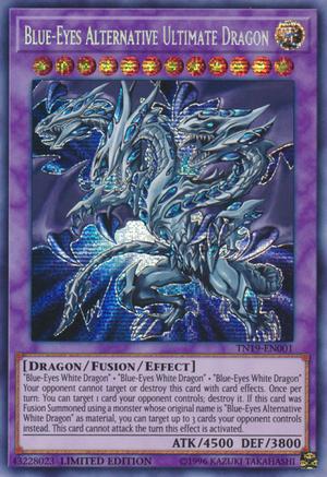 Blue Eyes Alternative Ultimate Dragon Yu Gi Oh Wiki Fandom Ultimate Dragon Yugioh Cards Custom Yugioh Cards