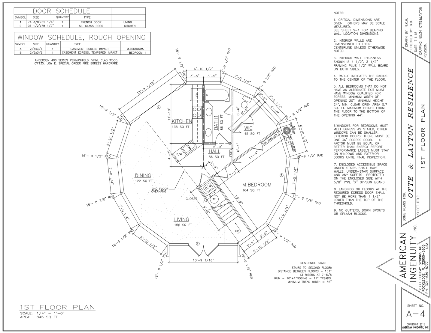 Geodesic Dome Diagram