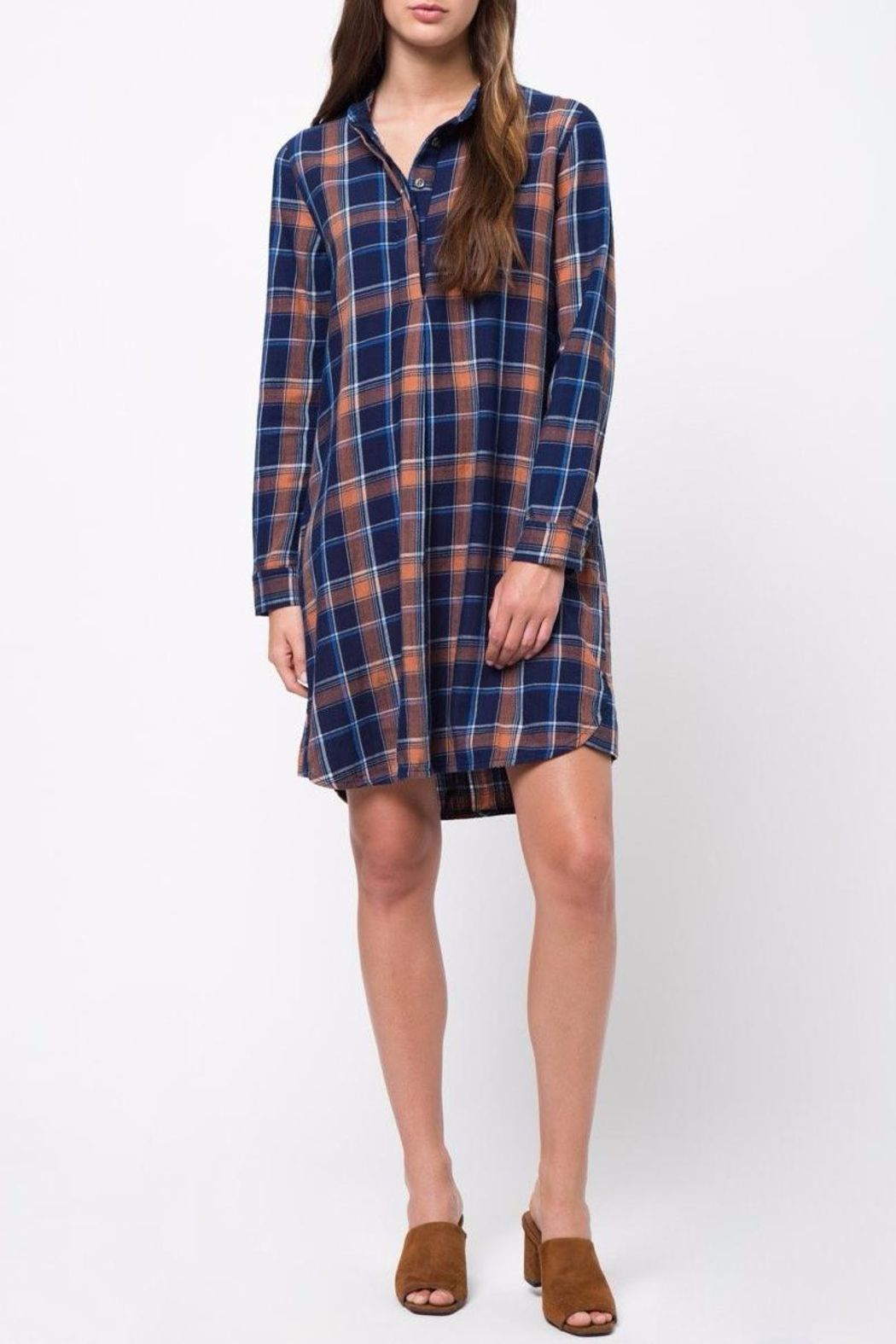 Plus size flannel shirt dress  movint Plaid Dress in   First Look at Fall   Pinterest