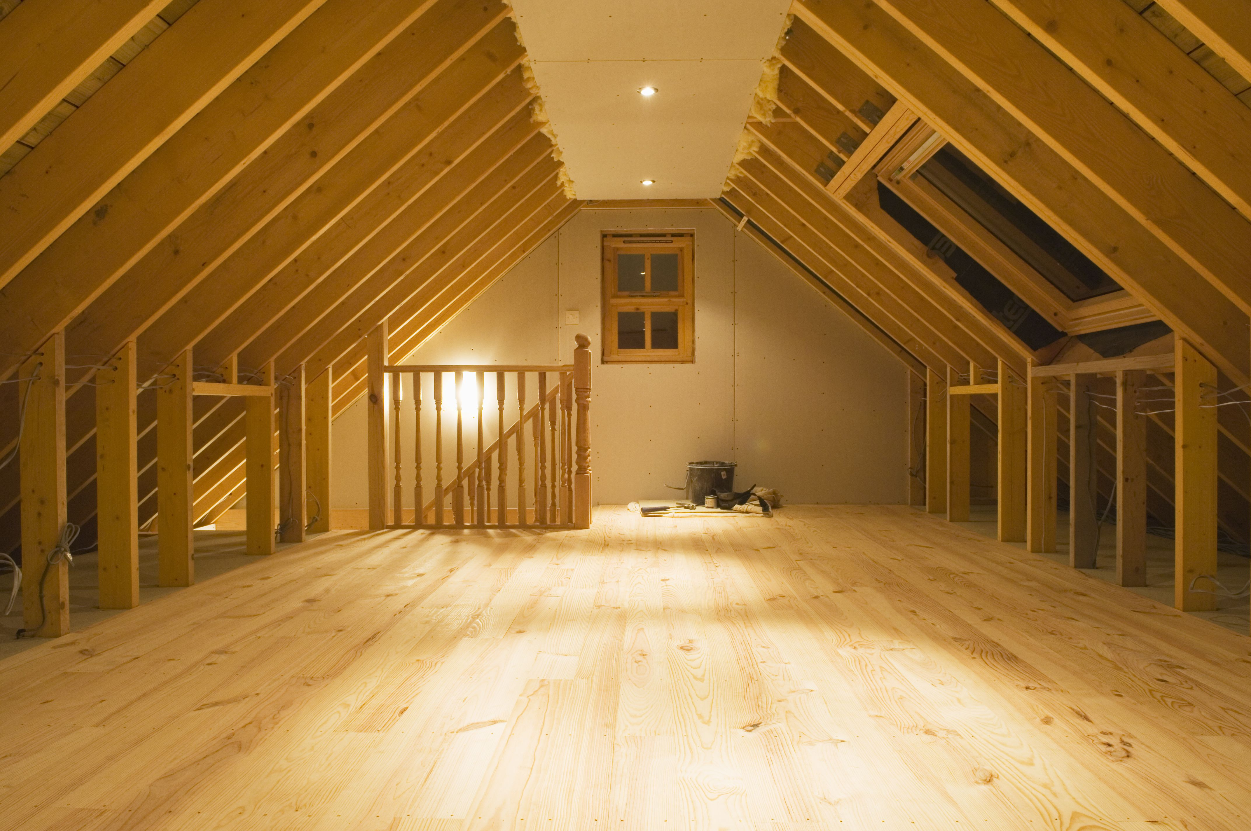 What Size Plywood For An Attic Floor Attic Flooring Attic Renovation Attic Apartment