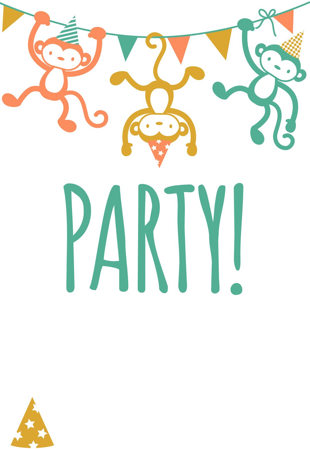 Free Printable Childrens Party Invitation | Free Printables ...