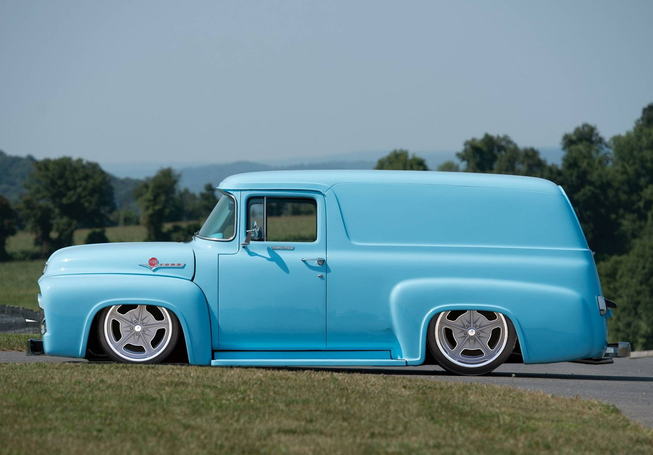 Rm Hershey 2014 Highlights 1956 Ford F 100 Panel Truck Cars 1955 F100