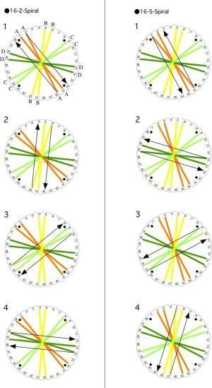 16 Strands Z Spiral1 By Robindu Kumihimo Bracelets Kumihimo