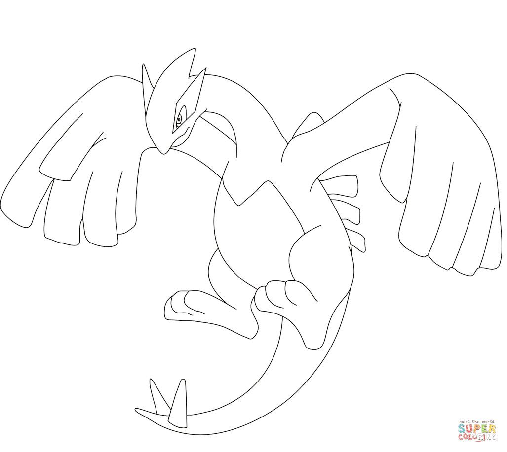 Legendary Pokemon Coloring Pages Elegant Legendary Pokemon Lugia