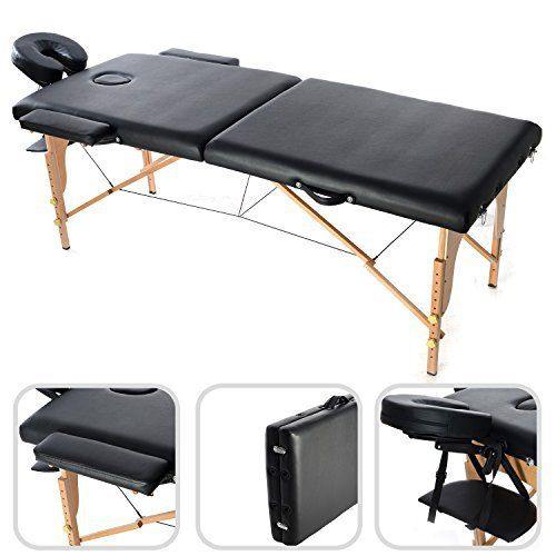 table de massage pliable avec poignée de transport – table de