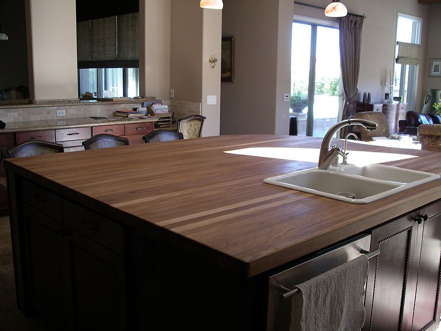 Pin By Grothouse On Kitchen Islands With Wood Countertops