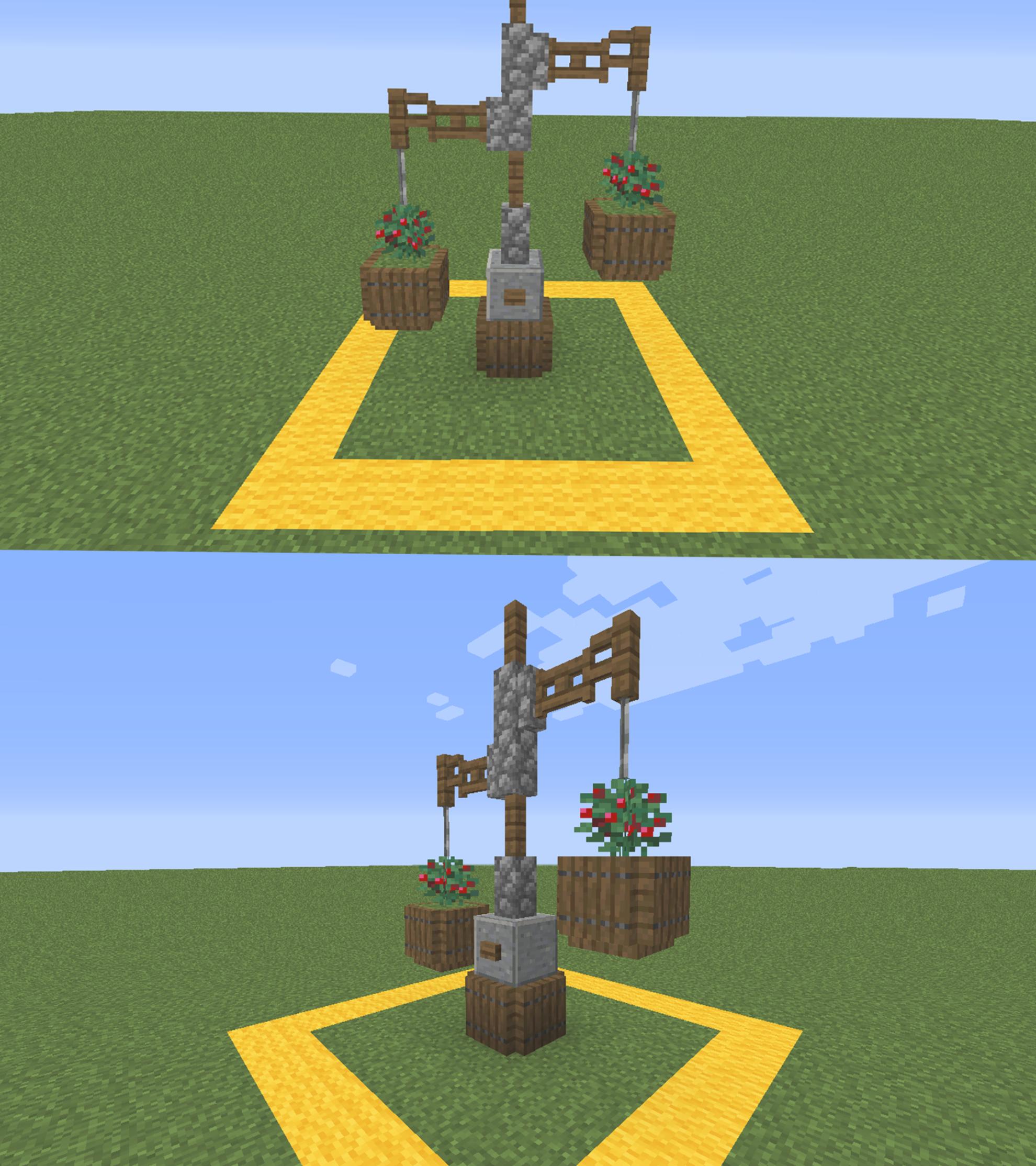 Small Garden (1.14) : Minecraft in 2020 | Minecraft designs