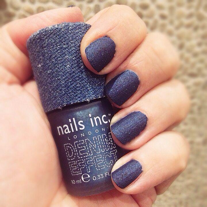 Nails Inc Denim Effect Bermondsey Latest Nail Trends Nails Inc Nails