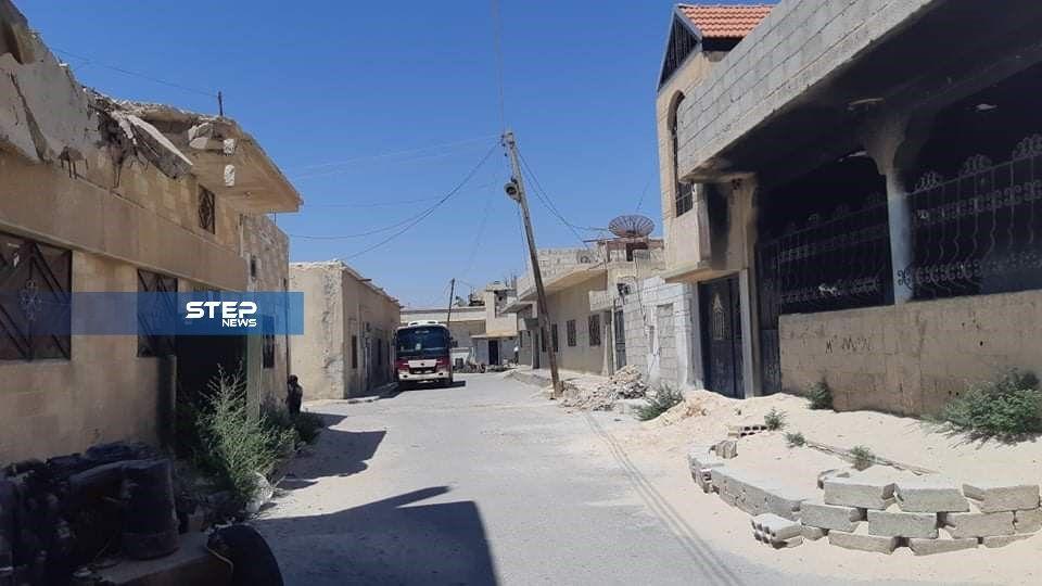 جولة لعدسة ستيب ترصد مدينة القريتين شرق حمص الخاضعة لسيطرة القوات