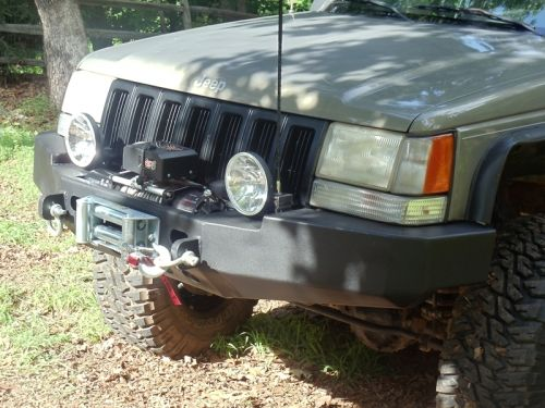 Front Winch Bumper Jeep Grand Cherokee 93 98 (ZJ)