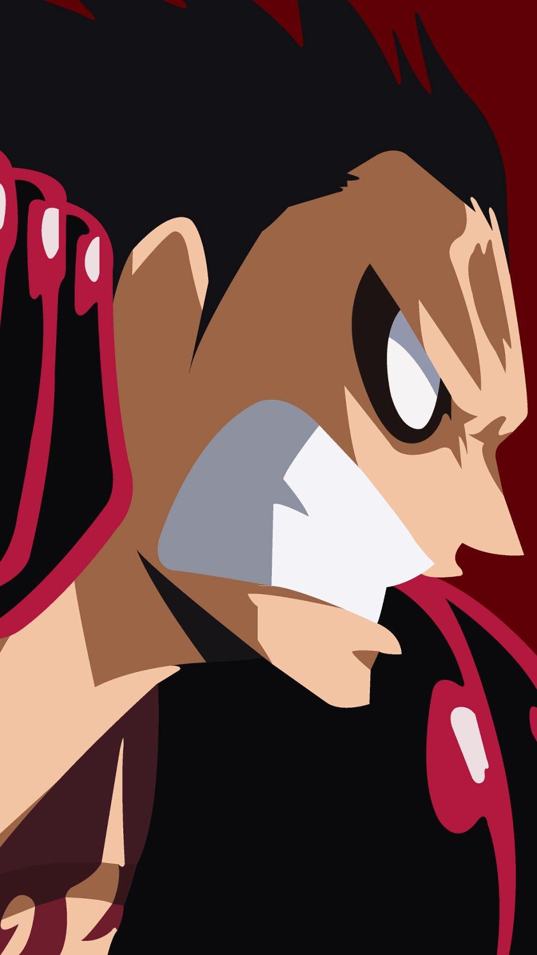Wallpaper Phone Luffy Full Hd Animasi Seni Anime Seni