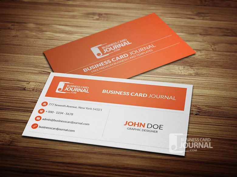 Minimal-Corporate-Business-Card-Template-0013 Graphic Design - free sample business cards templates