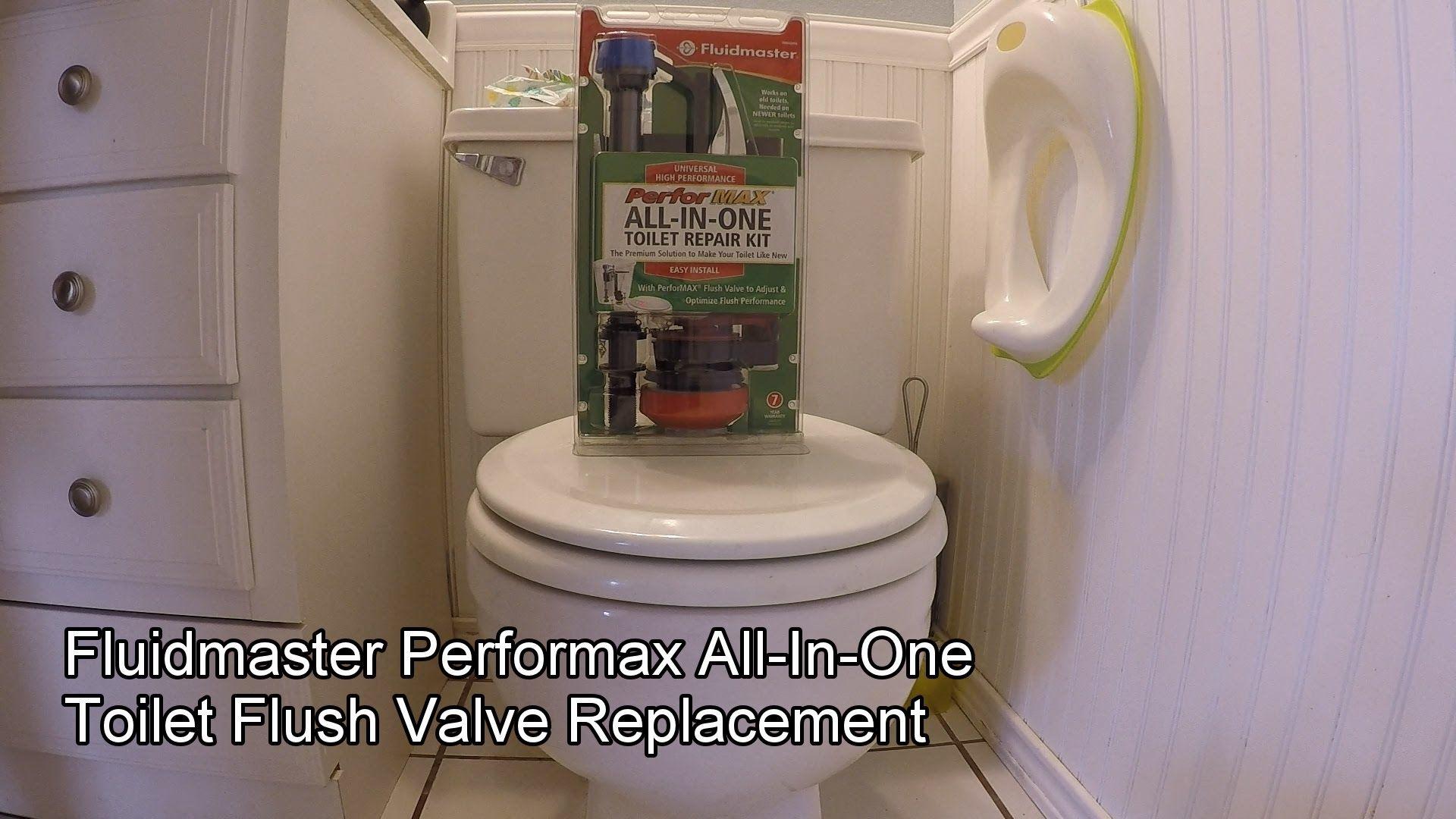 All In One Toilet Repair Kit