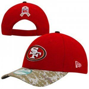 nfl salute to military service hats with camo bill veterans day tribute fitted