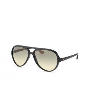 Ray-Ban Cats 5000 RB 4125 601 32 noir rayban Cats 5000 lunettes pas cher fb027a0ef7f7