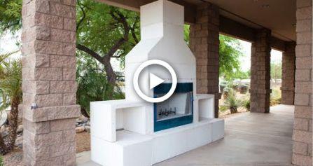 Rtf Modular Outdoor Fireplace Kit Diy Outdoor Fireplace Kits