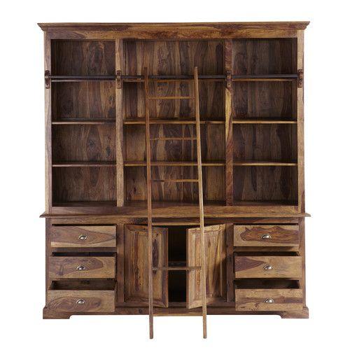 die besten 25 b cherregal mit leiter ideen auf pinterest bibliotheksleiter leiter. Black Bedroom Furniture Sets. Home Design Ideas