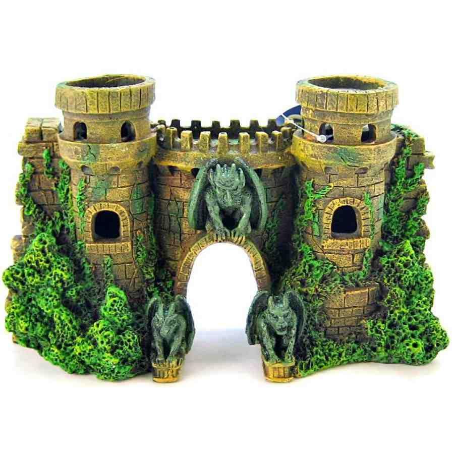 aquarium castle decorations - Blue Castle Decor