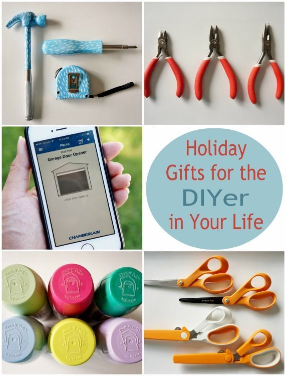Holiday Gifts For The Diyer In Your Life Gifts Diy Holiday Holiday Gifts