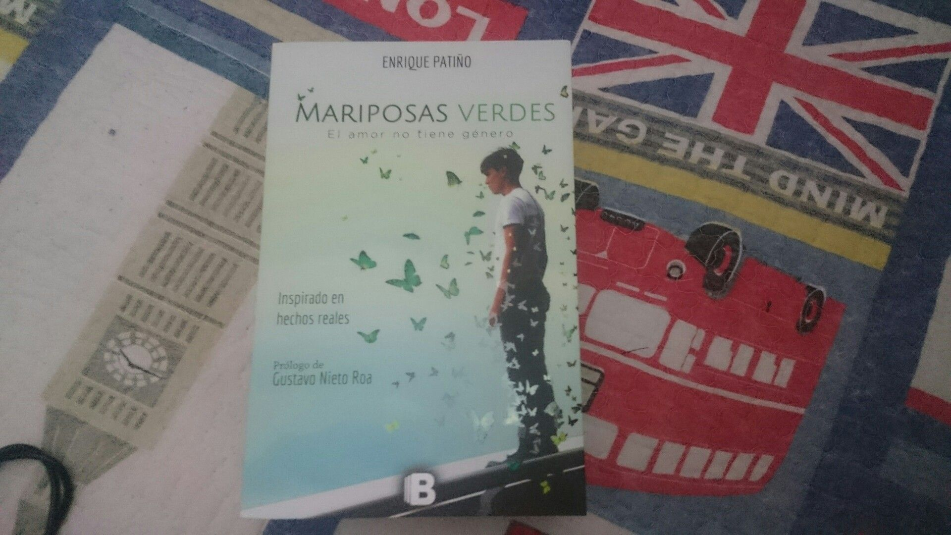 """Mariposas Verdes"" escrito por Enrique Patiño."