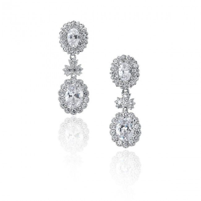 European Cluster Earrings - $44.50