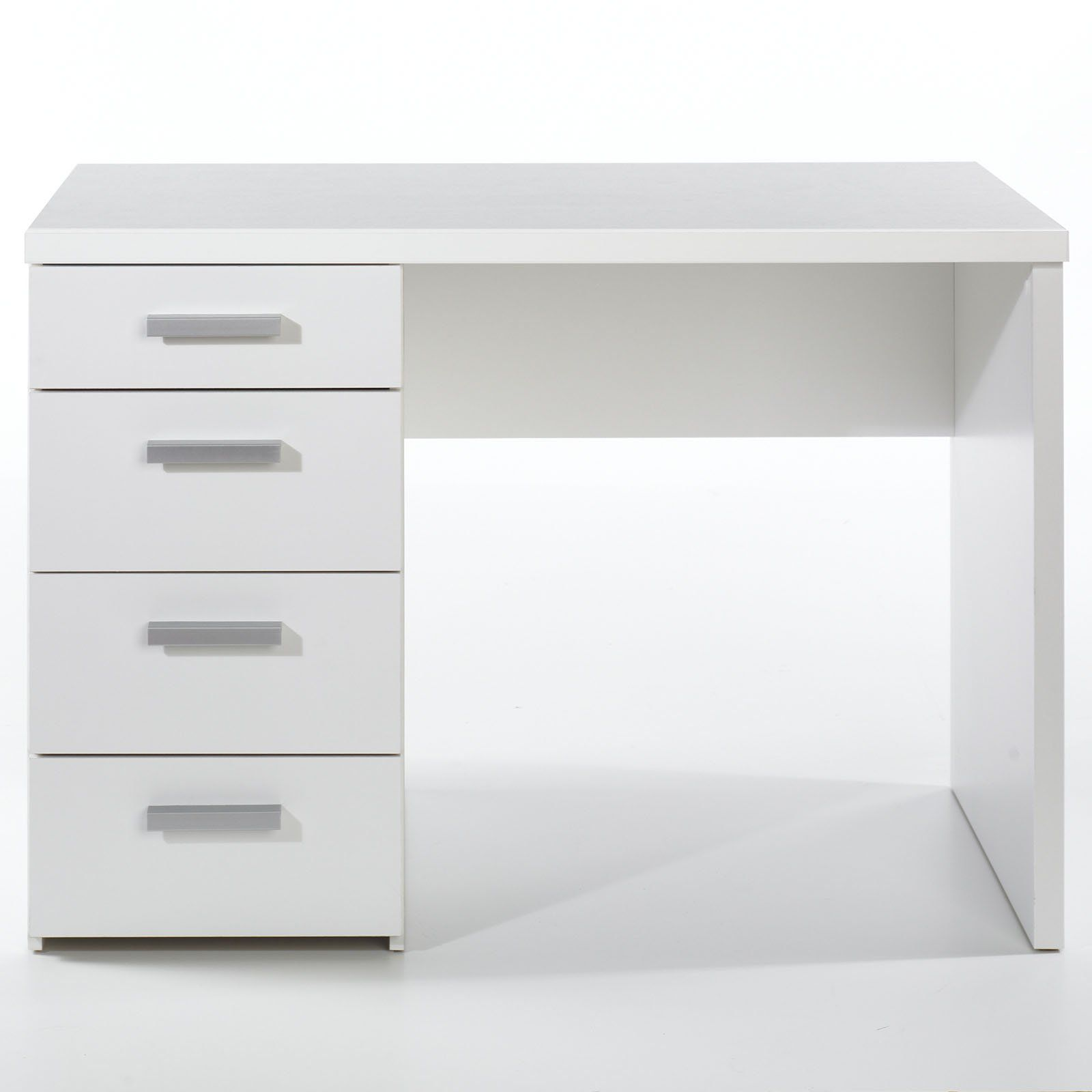 White Desk With Drawers For Bedroom