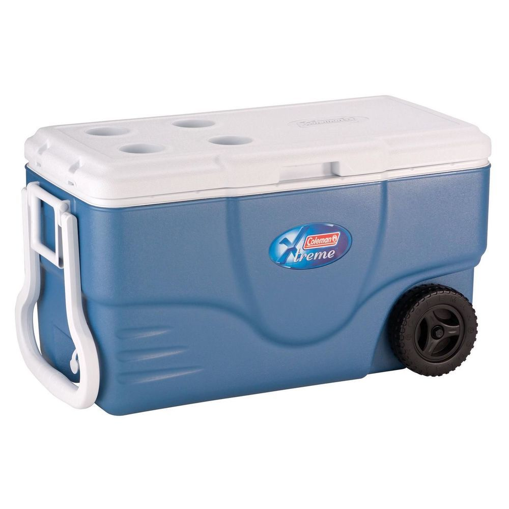 Coleman Cooler 62 Qt Quart Ice Chest Outdoor Camping