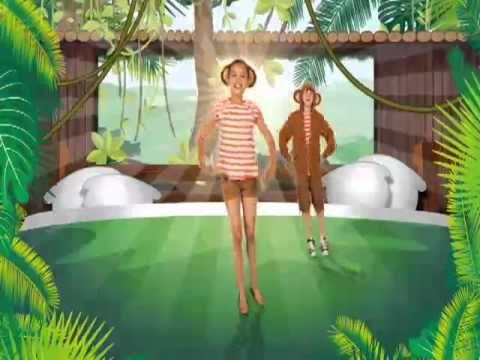 Just Dance Kids 2 - Five Little Monkeys  - Perfect for transitions/Brain Breaks