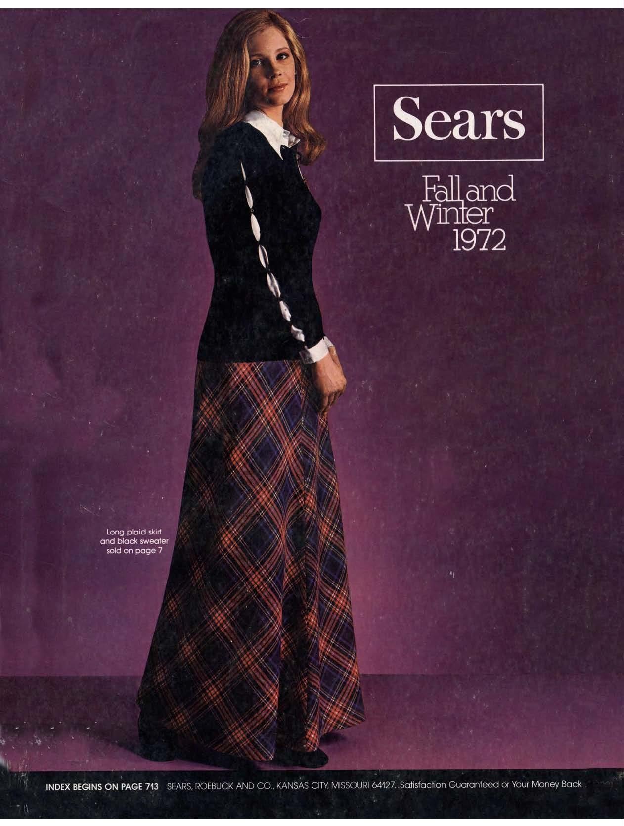 1972 Sears Fall Winter Catalog