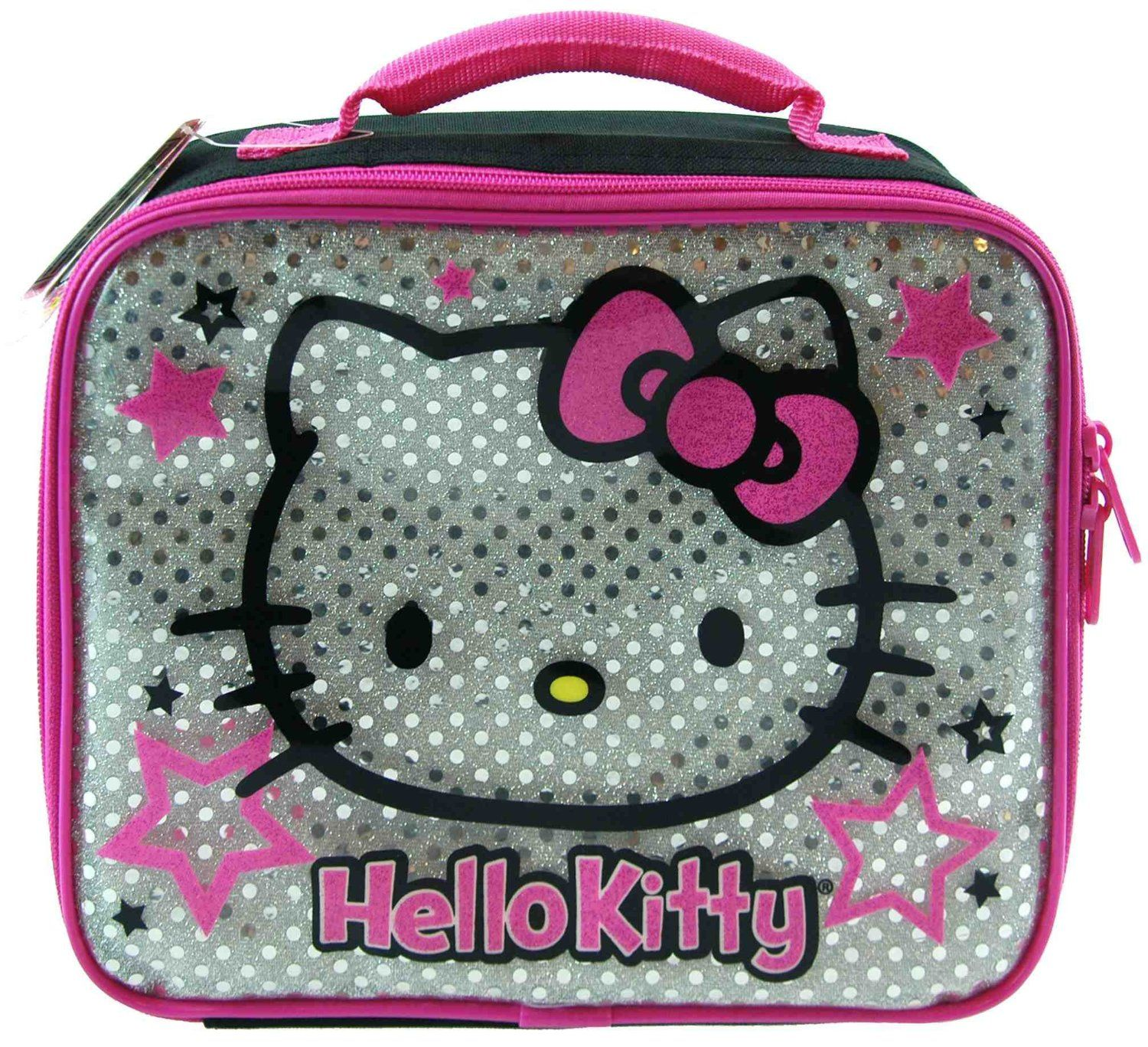 Amazon.com: UPD Lunch Bag, Silver Hello Kitty: Baby