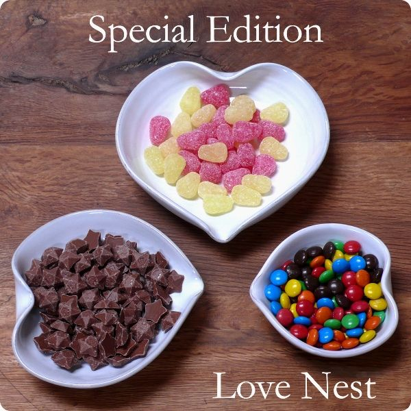 The Special Edition Love Nest! So popular during its limited run in 2012, the trio of heart-shaped bowls with their flowing elegant lines and handcrafted quality is back for another short time in 2014.