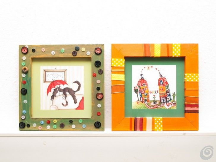 Cornici per quadri e illustrazioni Idee fai da te