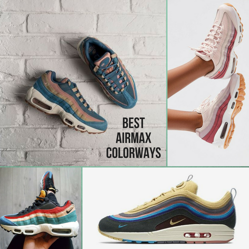 sports shoes d32b0 fce82 Best Nike Air Max Colorways - Lifestyle news website covering streetwear,  sneakers