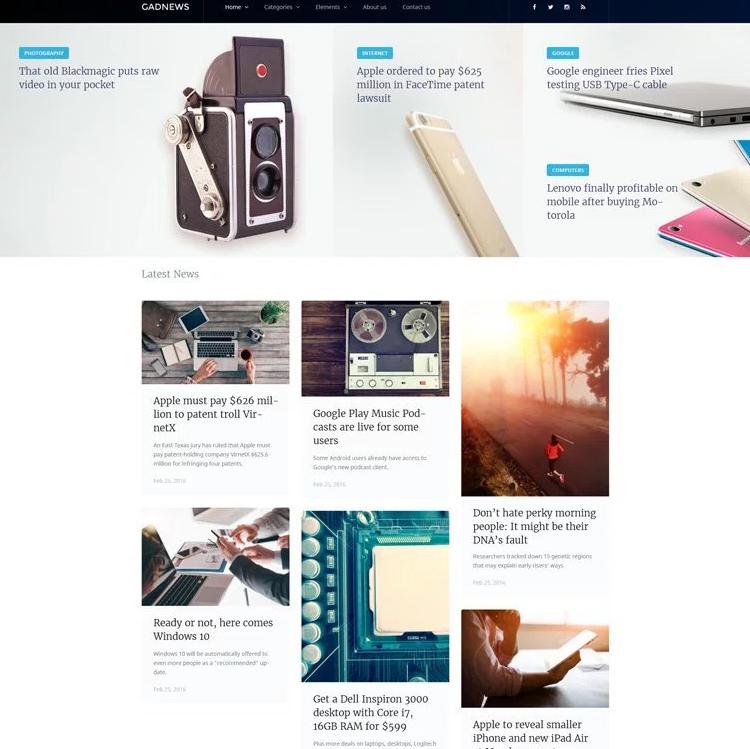 Top 18 Blogging WordPress Themes | Top 18 Blogging WordPress Themes ...
