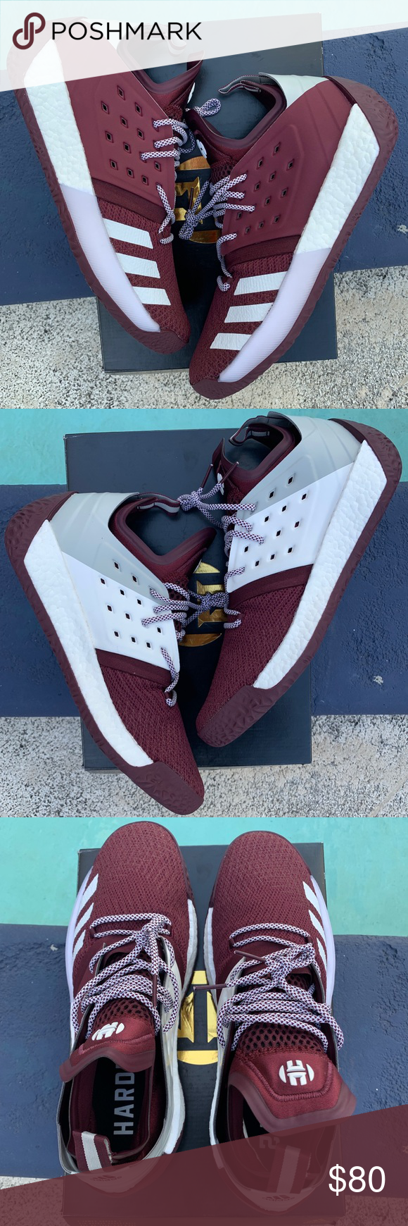 Adidas James Harden Vol.2 MM Size 14