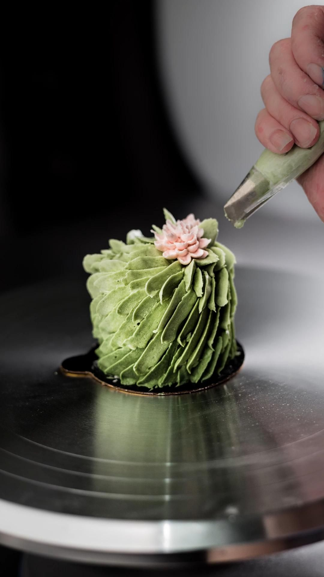 Water Lily Tiny Cake