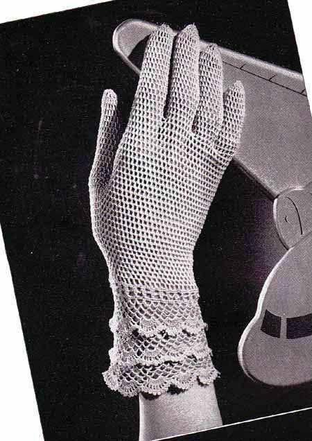 1940s Vintage Crochet Pattern Ladies by VintagePatternDesign, $2.95