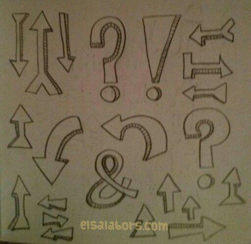 Flechas y simbolos