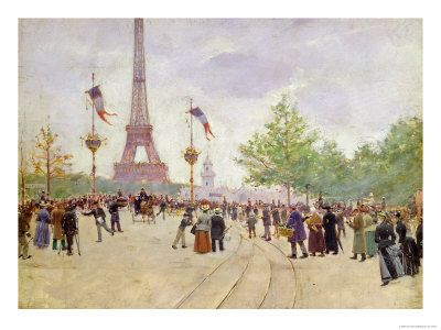 Entrance to the Exposition Universelle, Paris 1889