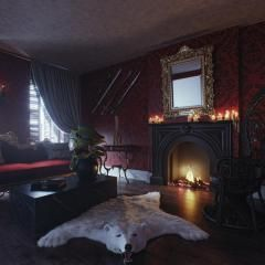 """Here's How You Can Spend the Night in The """"Addams Family ..."""