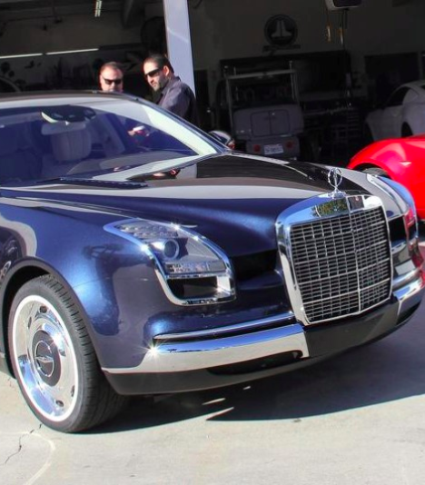 """""""Mercedes Royal 600"""" with a Look of its Own 