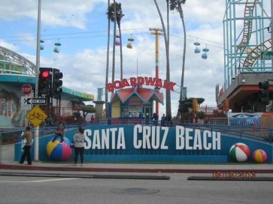 Santa Cruz Beach Boardwalk Images