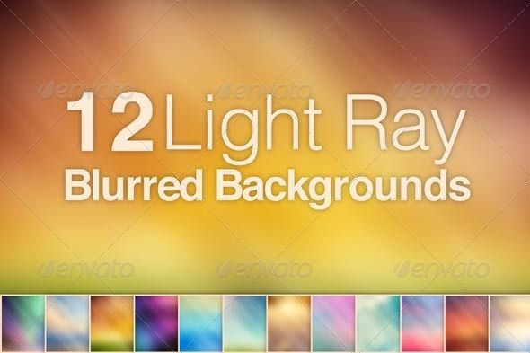 12 Light Ray Blurred Backgrounds Blurred Background Light Rays Background