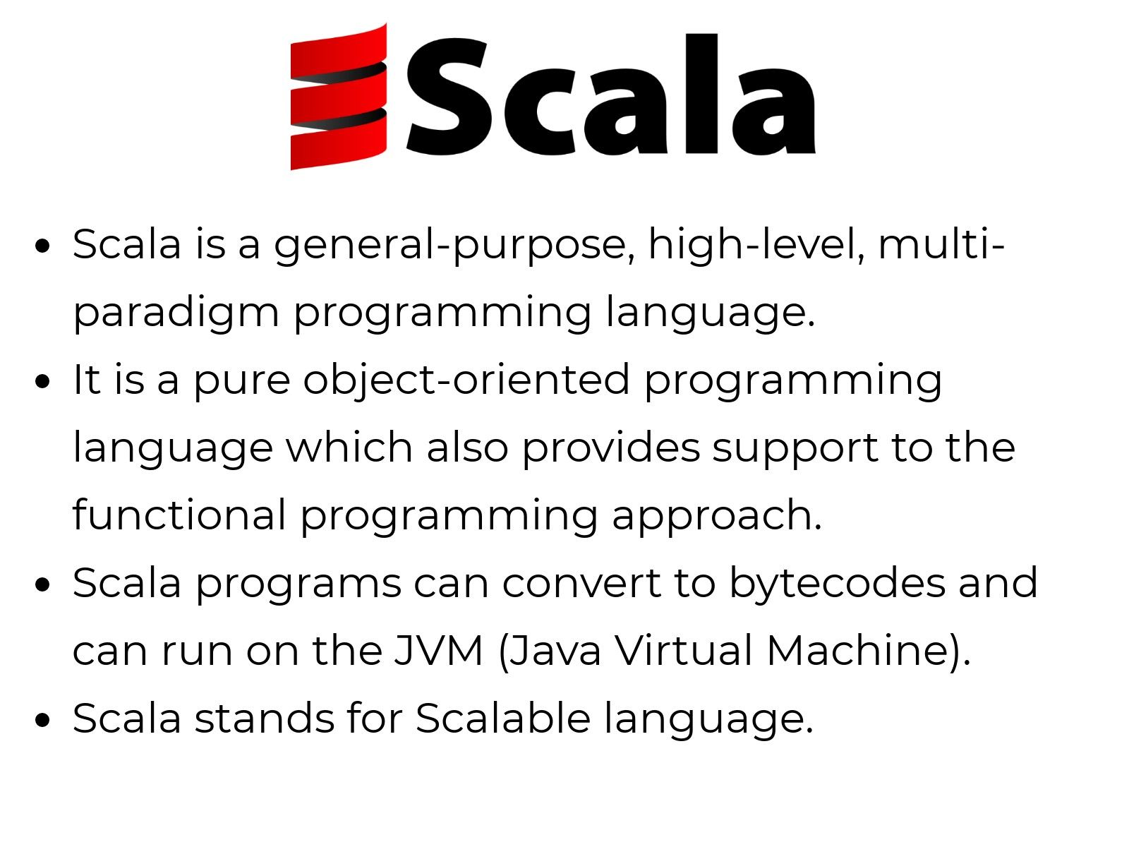 What is scala ?
