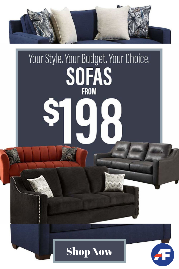 Fall In Love With Stylish Sofas At Prices That Won T Break Your Heart Browse Our Wide Selection Of Mattress Furniture American Freight Furniture Stylish Sofa