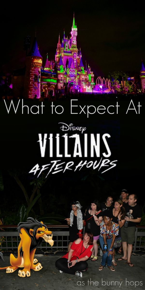 What Can You Expect From Disney Villains After Hours? – As The Bunny Hops®