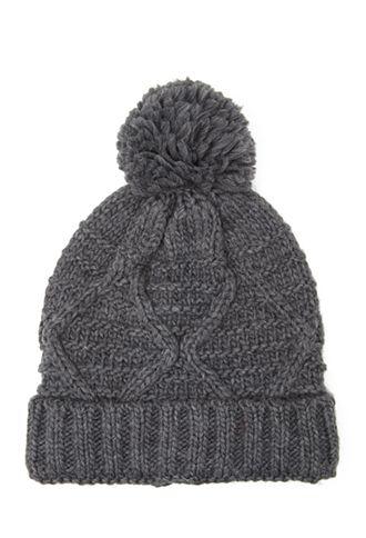 6dd160529 Pom-Pom Knit Beanie | FOREVER21 - 2000118811 | Oh santa Please ...
