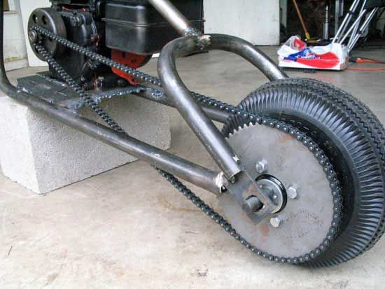 how to design and make a frame for mini choppers free info and plans including custom exhaust