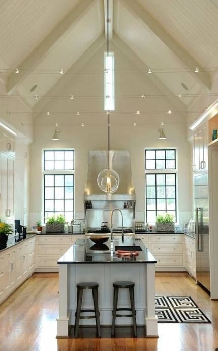 58 ideas room decor pictures kitchens roomdecor vaulted ceiling kitchen vaulted ceiling on kitchen cabinets vaulted ceiling id=80131